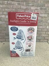 Fisher-Price Deluxe Cradle 'n Swing Baby Swing, New In Box, Retail $200, Sale125