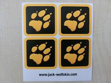 Jack Wolfskin Aufkleber,Sticker,Pfote,Tatzen,Tatze,Draussen ist überall, WOLF, 8