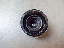 TAYLOR HOBSON COOKE ANASTIGMAT 15mm F2.5 LENS C MOUNT BOLEX cine BMCC 16mm
