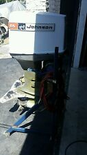 Johnson 65hp outboard boat motor parts incomplete