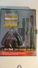 Amtech 35 piezas Conjunto de herramientas de precisión con almacenamiento caso LO555