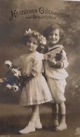 """Geburtstag, Kinder, Rosen, Matrose"" 1910 ♥"