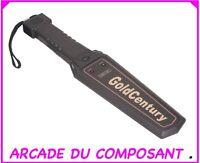 DETECTEUR DE METAUX CORPOREL PORTABLE - SECURITE (ref 73021-1) Poids 500g