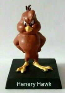 Henery Hawk - Figurine Metal - Statue Looney Tunes New Collector New 1 Top