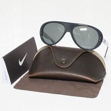 Nike Vintage 76 EV0601 017 Summer Sunglasses 007 Grey/Blue/White Flash Lens New