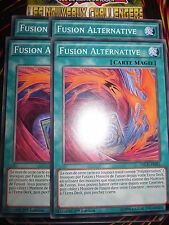 YU-GI-OH! COM FUSION ALTERNATIVE LOT DE 4 (PLAYSET) NECH-FR081 NEUF EDITION 1