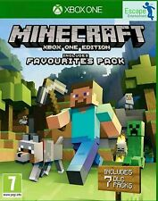 Minecraft: Favourites Pack for Xbox one new and sealed free postage UK edition