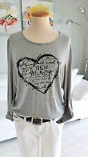 Gerry Weber Jersey  LA- Shirt, Bluse Basic Gr. 44 gestreift