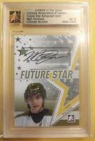 2008 09 ITG Ultimate  Future Stars Matt Duchene Autograph Gold /10 now Nashville