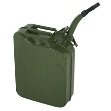 Gas Fuel Can Emergency Backup 5 Gallon Metal Portable Tank Gasoline Container