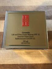 Elizabeth Arden Ceramide Lift & Firm Makeup, Shade Cognac 11, SPF 15, Foundation