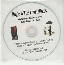 (GS35) Doyle & The Fourfathers, Welcome To Austerity - 2011 DJ CD