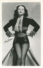 HEDY LAMARR Studio Starlet Original Vintage 1940s DW CHEESECAKE Postcard / Photo