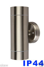 UKEW® IP44 Wall light Up and Down Outside/ Indoor stainless steel