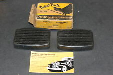 1934,1935,1936,1937,1938,1939,1940,1941 BUICK PEDAL PADS