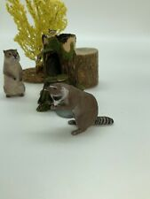 Dollhouse Miniature Artisan Signed Karl Blindheim Racoon (r)