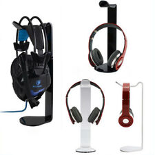 Desk Headphone Headset Padded Stand Hanger Display Holder Rack Desktop Mount