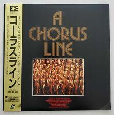 A Chorus Line - Japanese Laserdisc - RARE + OBI Strip