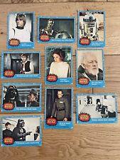 More details for 1977 topps uk star wars trading cards blue border series 1 - complete set 1-66
