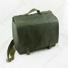 ORIGINAL CZECH BREAD BAG - Genuine Military Army Green Shoulder Carrier Pack