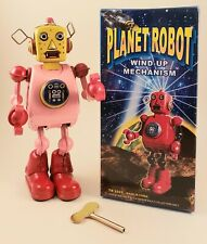 Planet Robot Tin Toy Wind-Up Mechanism 9