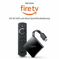 Amazon Fire TV 4K Ultra HD HDR 2017 UHD Alexa Sprachfernbedienung NEU * OVP