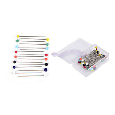 50X Patchwork Pins Pearl Head Pins DIY Quilting Tool Sewing Accessories Craft Po