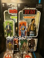 Star Wars Vintage Collection Wave 4 2020 Luke Bespin, Han Bespin, C-3PO, Lando