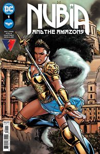 Nubia & The Amazons #1 - Bagged & Boarded