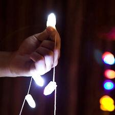 10X Wasserfest LED Licht Aufleuchtend Papierlaterne Ballon Hochzeitsparty Deko w