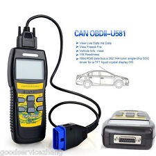 U581 Professional SUPER Diagnostic Scan Tool CAN OBD II OBD2 Code Scanner Reader