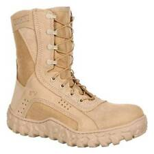 Rocky 105 S2V  AR670-1 Approved Special Ops Tan Vented Combat Boots 10.5 Wide