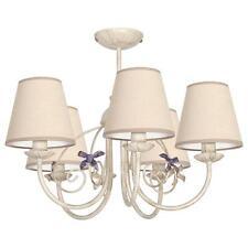 Plafonnier Suspension Lampe Salon Style Art Nouveau Maison De Campagne Tissu