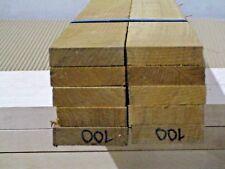 "Teak Decking Lumber (1-PC) 1/2 x 2"" x 3' ""Marine Quality Teak""  VG KD."