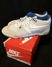 Vintage Nike Women's Volleyball Shoes Og Net Play Deadstock Size 7.5 White/Blue