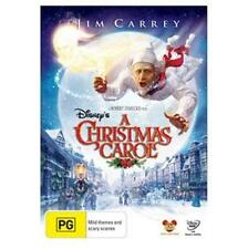 A CHRISTMAS CAROL : NEW DVD : Jim Carrey