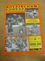 04/10/1977 Nottingham Forest v Ipswich Town  (Creased, Folded, Worn, Team Change