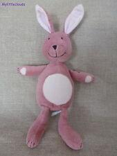 Obaïbi ***Doudou/Peluche Lapin/Rabbit rose TBE