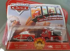 NEW DOC HUDSON AND RED MINI ADVENTURES WORLD OF CARS DISNEY FIRE DEPT