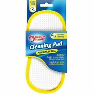 Anti Bacterial - Washing Up Cleaning Pad Pack of 1
