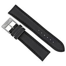 Breitling Black Leather Strap 22mm - 20mm 226X-A20BASA.1