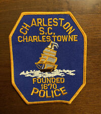 Charleston Police Patch - South Carolina - Charles Townes - Founded in 1670