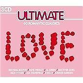COMPILATION CD ~ 3 CD SET ~ ULTIMATE LOVE: 60 GREAT ROMANTIC SONGS