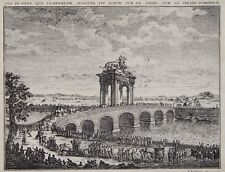 Roma Romani Tevere Augustus ponte Elephant armate carrello Pochentong Joseph Kaltner
