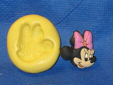 Minnie Mouse Face Mold Silicone  #530 Cup Cake Chocolate Resin Fondant Soap