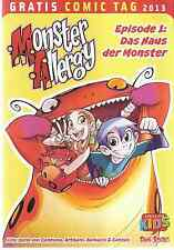 Comic - Vom Gratis Comic Tag 2013 - Monster Allergy -  deutsch