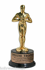 24k Gold Plated Deluxe Metal Achievement Trophy - 3442a