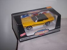 AMERICAN MUSCLE - ERTL- 1969 SHELBY GT-500 -  YELLOW DROP TOP - NEW IN BOX