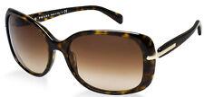 CLASSY NEW PRADA Ladies Designer Tortoise Havana Gold Sunglasses SPR 08O PR 08OS