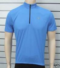 Briko Short Sleeve Road / MTB Cycling Jersey BLUE - Large